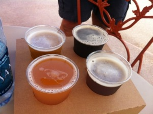 Grapefruit Beer at Epcot