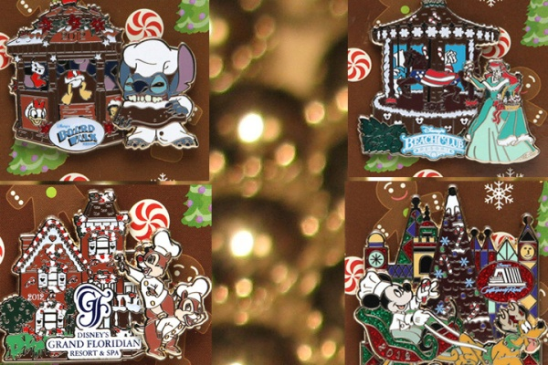 Disney gingerbread house pins