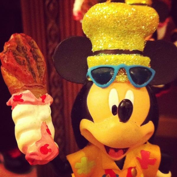 Mickey Turkey Leg Ornament