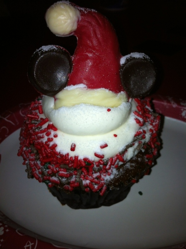 Disney Gingerbread Cupcake