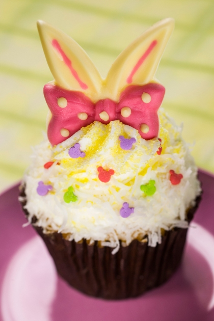 Easter cupcake at Disney's Hollywood Studios