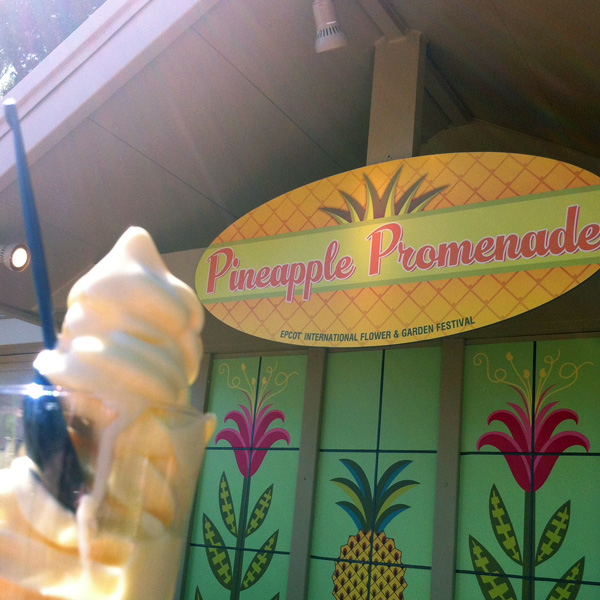 Spiced Rum Dole Whip from Epcot. More at http://disneyfoodie.com