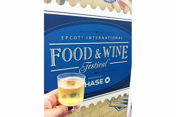 The Epcot International Food & Wine Festival.