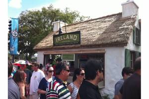 Ireland Marketplace at the Epcot Food & Wine Festival.