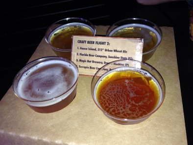 Craft Beer Flight at EPCOT
