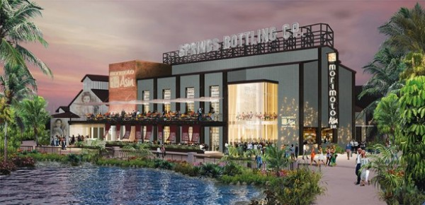 Morimoto Asia, BOATHOUSE Dining Experiences Coming to Disney Springs in 2015.  Photo: Disney Parks Blog
