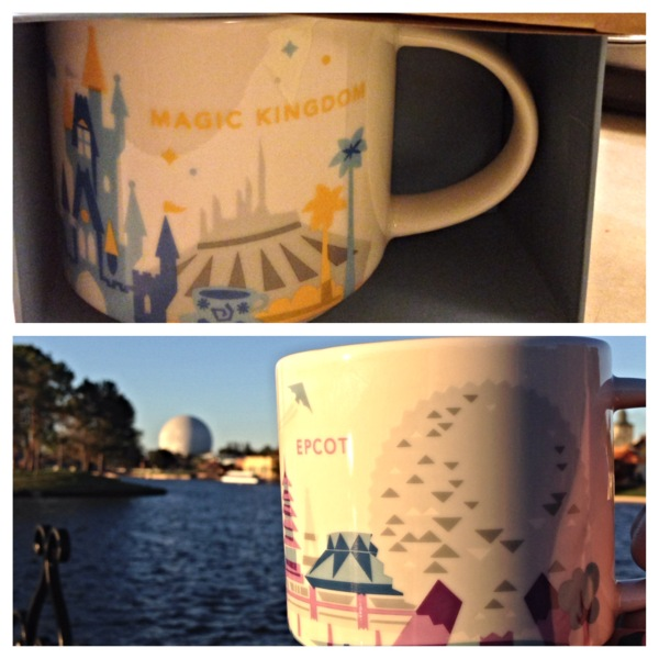 Starbucks - Walt Disney World mugs